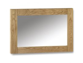 Marlborough Solid American Oak Wall Mirror-0