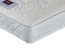 Sleepwalk Memory Sprung Gold Rolled Mattress Single-0