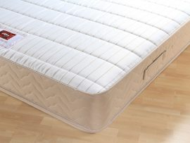 Catalina Supercoil Sand Divan Bed Single-162