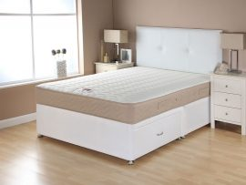 Catalina Memory Sand Divan Bed Super Kingsize-0