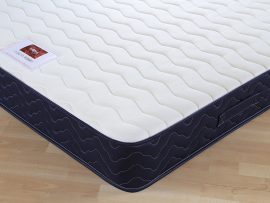 Catalina Memory Navy Divan Bed Double -204