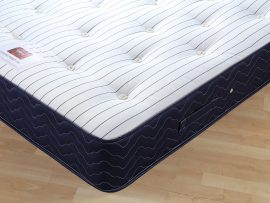 Catalina Pocket 1000 Navy Divan Bed Single-176