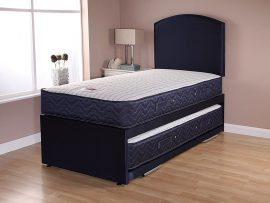 Catalina Supercoil Navy Full Length Guest Bed-240