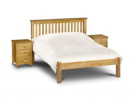 Barcelona Pine Low Foot End Kingsize Bed-0