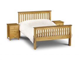 Barcelona Pine Kingsize Bed-0