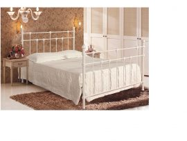 Dorset Ivory Metal Bed Double-0