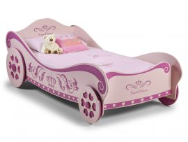 Pink Charlotte Princess Car Bed