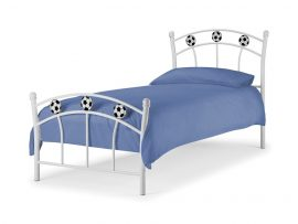 Soccer Single Metal Bed-0