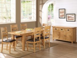 Somerset 5x3 Extension Dining Set-0