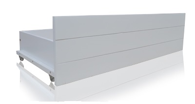 Pentre White Hardwood Small Double Bed Frame-1667