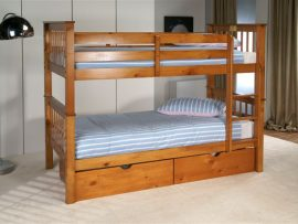Pavo Solid Pine Bunk Beds