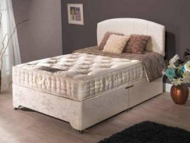 Knightsbridge 1000 Small Double Divan Bed-0