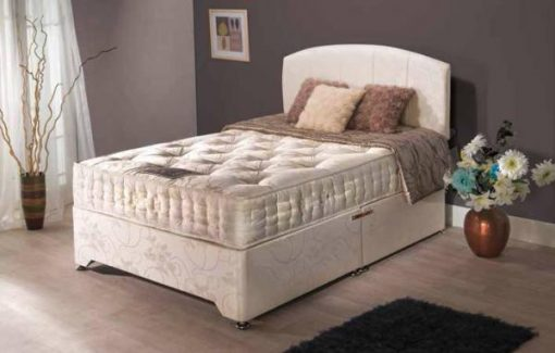 Knightsbridge 1000 Super Kingsize Divan Bed-0