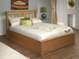 Terran Solid Okia Kingsize Ottoman Bed Frame