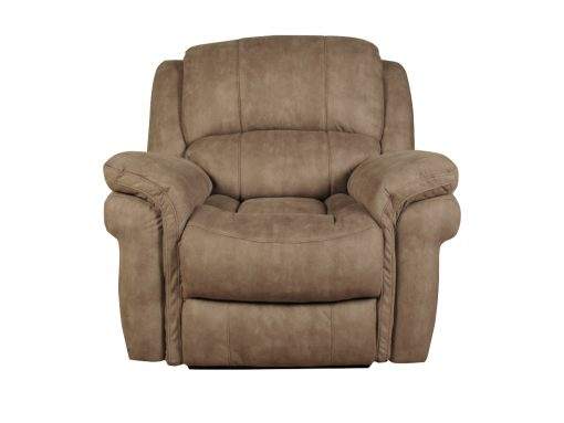 Farnham Taupe Leather Recliner Chair