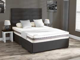 Mammoth Performance 240 Firm Single Divan Bed 1