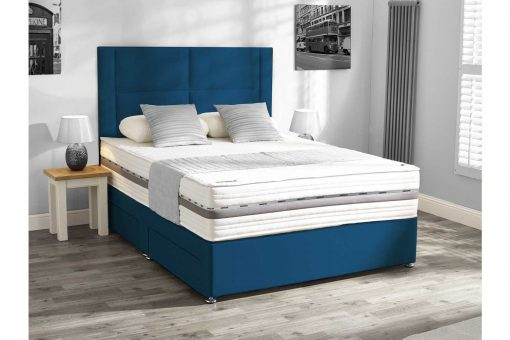 Mammoth Beds Performance Pocket 2000 Double Divan Bed