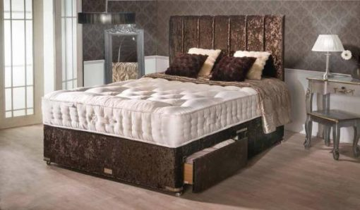 Balmoral 7000 Pocket Sprung Small Double Divan Bed-0