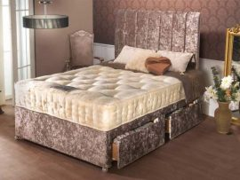 President 1500 Pocket Sprung Super Kingsize Divan Bed-4187