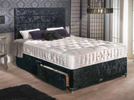 Empress 5000 Pocket Sprung Small Double Divan Bed-0