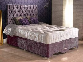 President 1500 Pocket Sprung Single Divan Bed-0