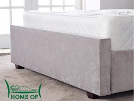 Gabriella Grey Fabric Designer Double Bed Frame-4483