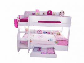 White Storage Bunk