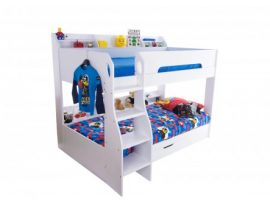Flair Furnishing Flick White Bunk Bed
