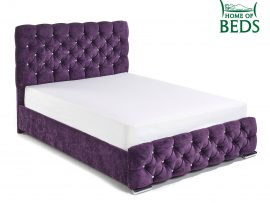 Home Of Beds Parisian Kingsize Fabric Bed Frame Main