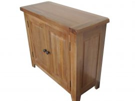 Barcelona 2 Door Solid Oak Sideboard