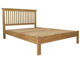Orlando Solid Oak Kingsize Bed