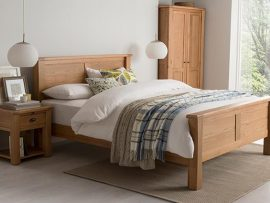 Breeze Solid Oak Bed Frame