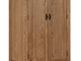 Miami Solid Oak 2 Door Robe