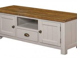 Vienna Large White Oak TV Unit