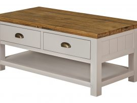 Vienna White Oak Coffee Table