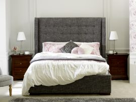 Limelight Aquila Slate Grey Double Bed Frame Main