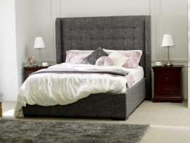 Limelight Aquila Slate Grey Double Bed Frame