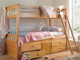 Heartlands Captains Pine Bunk Bed