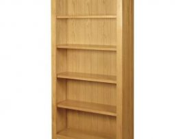 Ellington Solid Oak Tall Bookcase