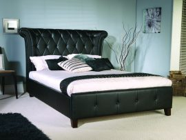 Limelight Epsilon Black Kingsize Bed Frame