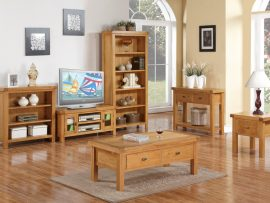 Ellington Solid Oak Telephone Table-5599