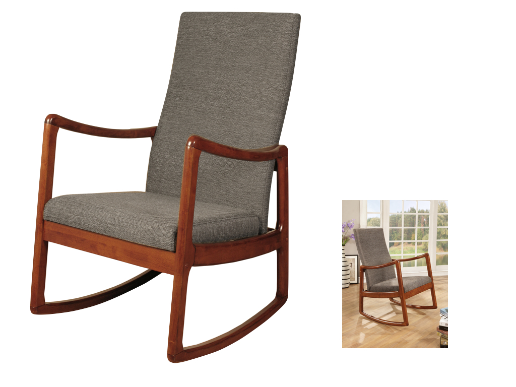 Wondrous Rossa Wooden Rocking Chair Gmtry Best Dining Table And Chair Ideas Images Gmtryco