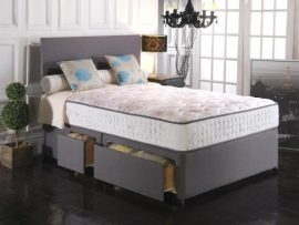 Vogue Beds Reflex Memory 1500 Small Double Divan Bed