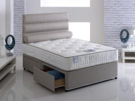 Vogue Beds Latex Comfort Small Double Divan Bed