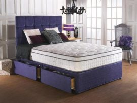 Vogue Beds Memory 70 Backcare Kingsize Divan Bed