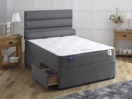 Vogue Beds Super Kingsize Onyx Star 1500 Divan Bed