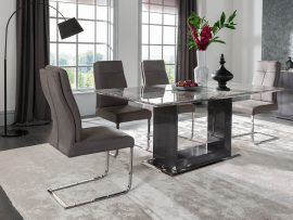 Donatella 1800 Marble Large Dining Set