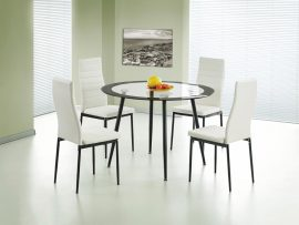 Acodia Glass 4 Seater Dining Set