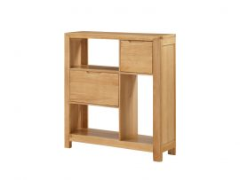 Heartwood Solid Oak Compact Bookcase