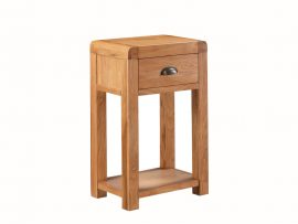 Oakridge Solid Oak Telephone Table